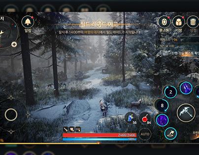 2020Q1_Mobile MMORPG UI Mockups