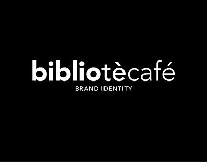 bibliotècafé - Brand identity