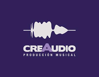 Imagen corporativa para la productora Creaudio