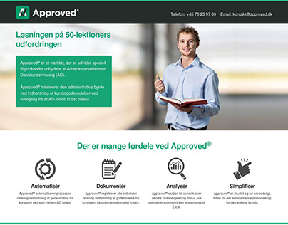 Approved - Web design for Wordpress