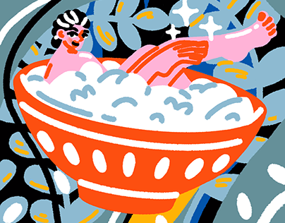 Reishunger – Cover Illustration