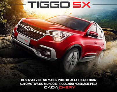 LandPage Tiggo 5X