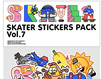 Skaters Sticker pack