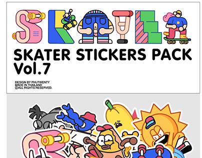 Skaters Sticker pack
