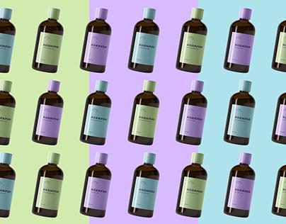 Packaging & Branding concept Shampoo