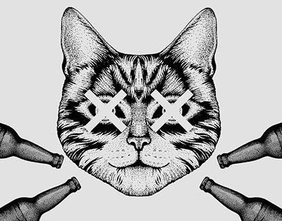 Kill The Cat — Logo Illustration