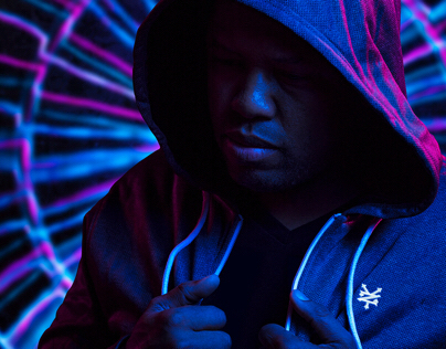 Chicago Light Painter Portraits