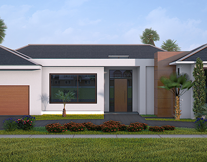 3d rendering for a house in Florida.