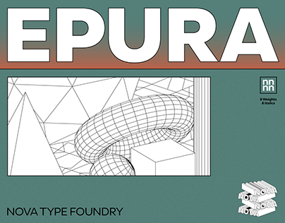 Epura Typeface