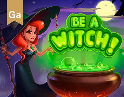 Be a witch! Halloween (match3)