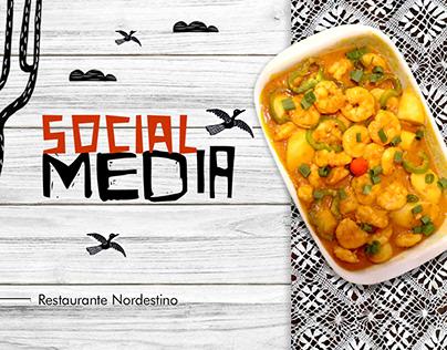Social Media - Restaurante Nordestino