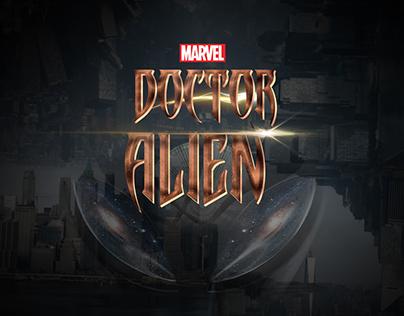 "Doctor Alien Title inspired by ""Doctor Strange"" Movie"