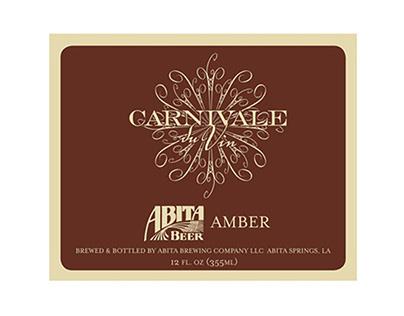 Carnivale du Vin logo/Abita Beer Commemorative Label
