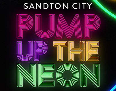 Pump Up The Neon Kids Gym Stand