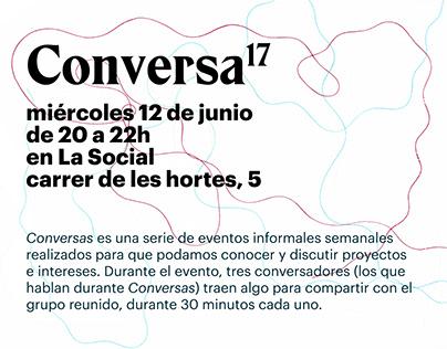 Conversas Barcelona
