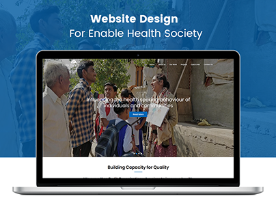 Enabled Health Society NGO Website Branding & Marketing