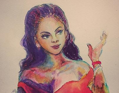 Rihanna, a doll style