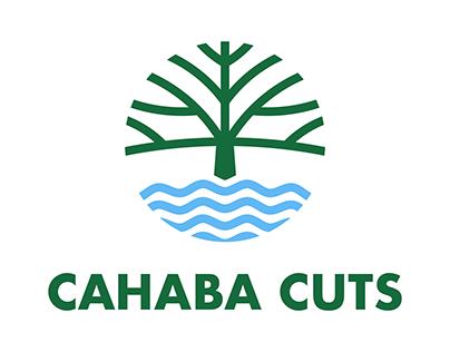 Cahaba Cuts Logo Design