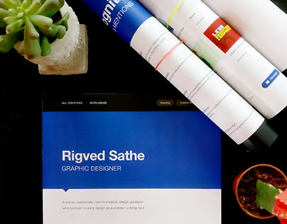 CV Template Powered by Behance