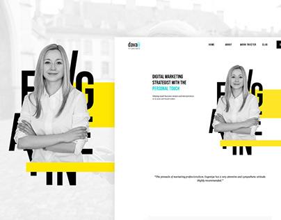 Davaii.ch - Web design fine tune and improvements