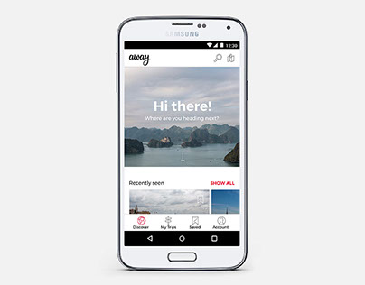 away - Your Itinerary App
