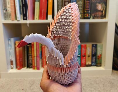 Origami 3D Swan
