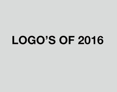 LOGO'S of 2016