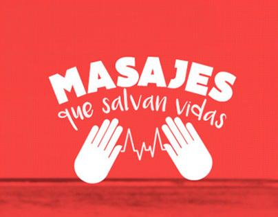 Masajes que salvan vidas / Liga contra el cáncer