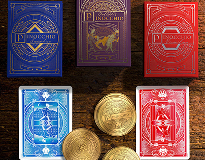 Pinocchio Playing Cards