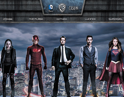 DC Comics X Warner Bros. TV X Comic-Con