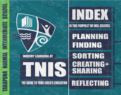 TNIS SCHOOL PAMPHLET DESIGN