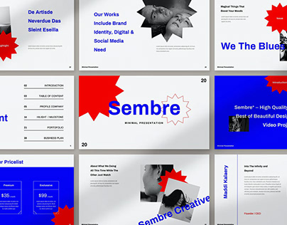 Sembre Presentation Template