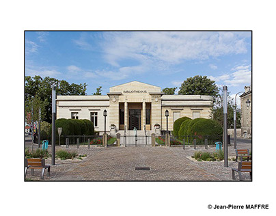 Reims Bibliothèque Carnegie