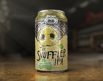 Sterling Pig // The Snuffler Now in Cans!