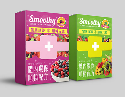【健康綠築】Nutrition Supplement Package Design