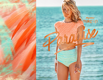 MakeUp Paradise • Visual Identity and Package Design