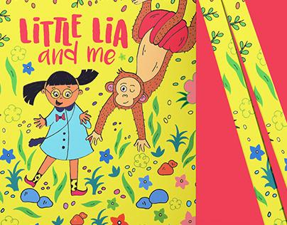 Little Lia & Me - Book Cover Design