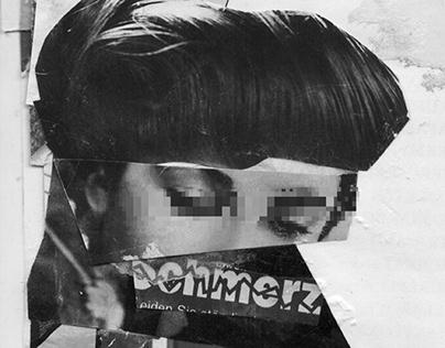 Portrait // Analog Collage Detail