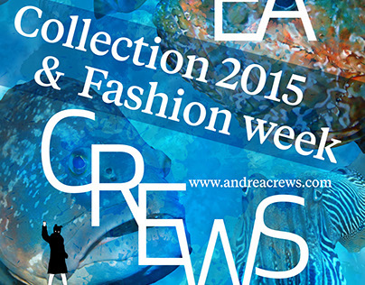 Andréa Crews - Collection 2015 & Fashion Week