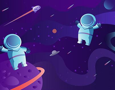 Fat astronauts
