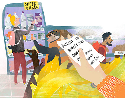 Illustration for Children´s Magazine BUBLINA