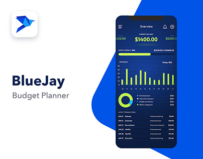 Blue Jay - Budget Planner