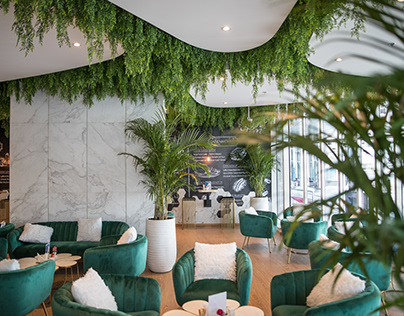 Samaya Coffee Shop in Dubai by Amer Shawa