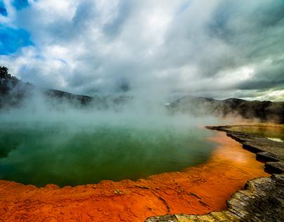 Wai-o-Tapu Thermal area