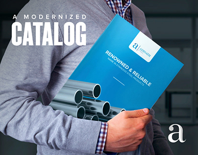 A Modernized Catalogue Design For The Industry Leader