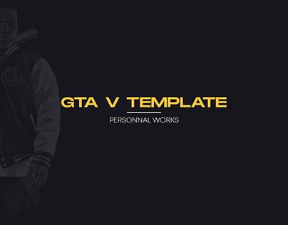 GTA V Template (WIP)