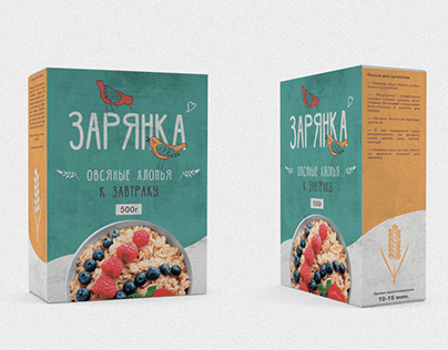 Packaging for oatmeal