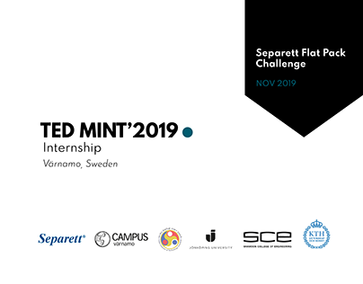 TEDMINT'2019 | Design Thinking in Product Design