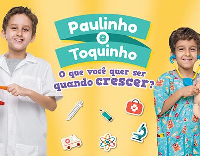 Livrão Paulinho e Toquinho