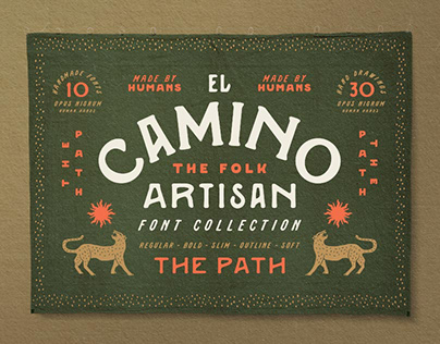 El Camino Font Collection